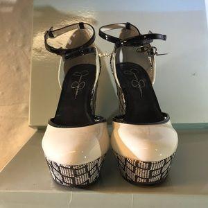 Jessica Simpson Shoes - Jessica Simpson fashion platform wedges Sz 7.5